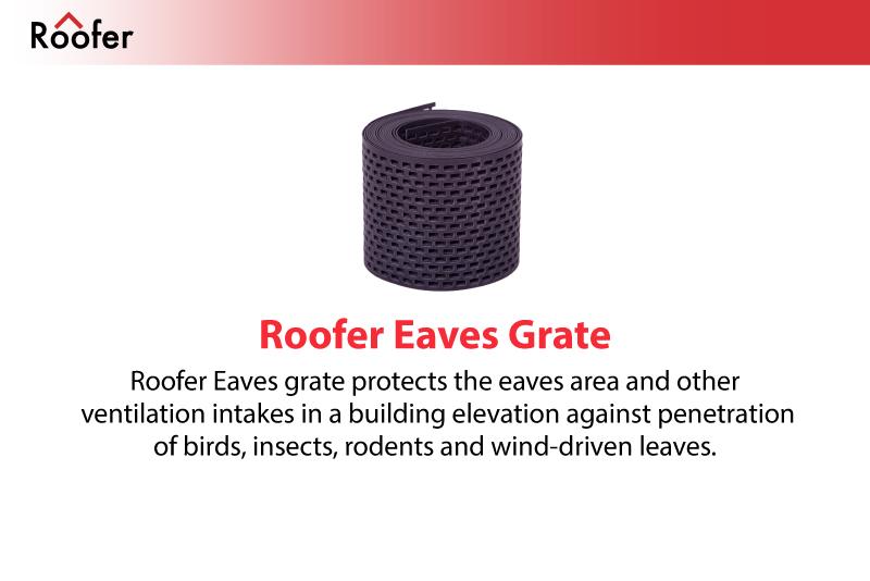 Roofer   Roof System Solutions   Roofer Eaves Grate