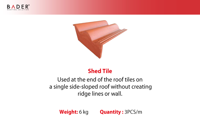 Bader | Auxiliary Tiles | Shed Tile
